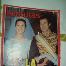 Coleccionismo de Revistas: REVISTA LECTURAS 1039 LA BODA . Lote 56533150