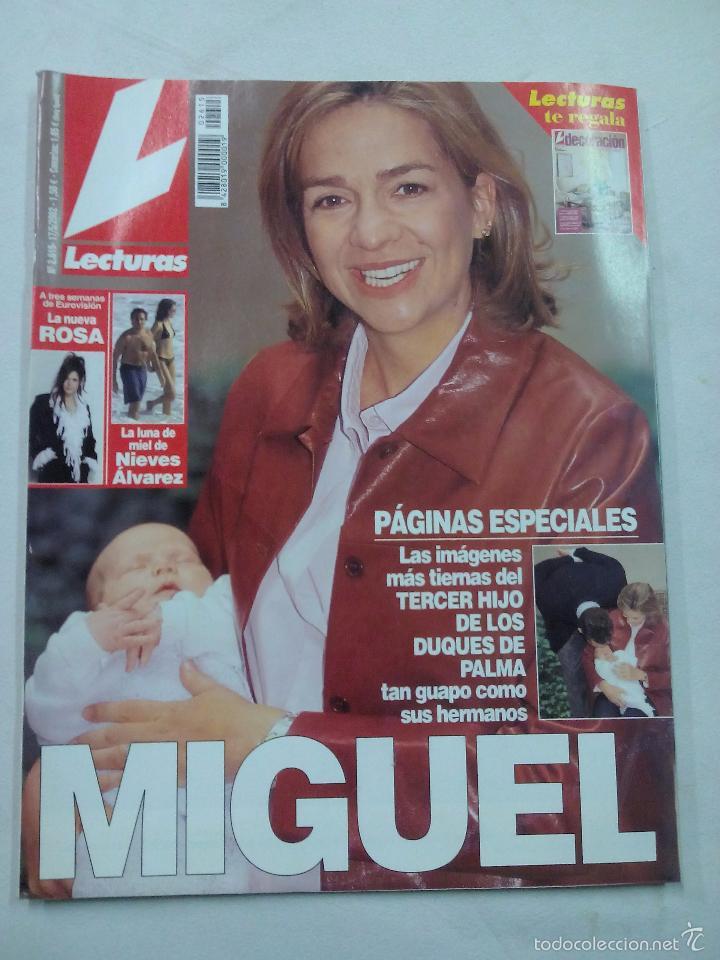REVISTA LECTURAS. MIGUEL. Nº 2615. MAYO 2005 (Coleccionismo - Revistas y Periódicos Modernos (a partir de 1.940) - Revista Lecturas)