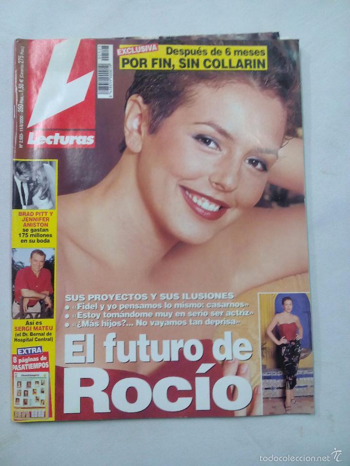 REVISTA LECTURAS. EL FUTURO DE ROCIO. Nº 2523. AGOSTO 2000 (Coleccionismo - Revistas y Periódicos Modernos (a partir de 1.940) - Revista Lecturas)