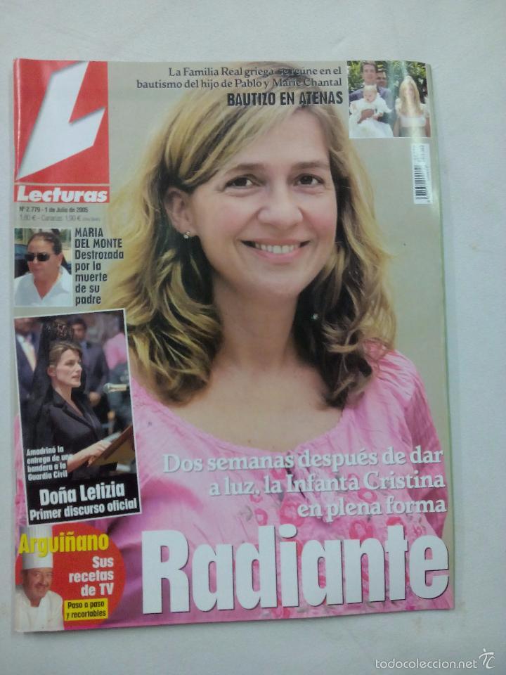 REVISTA LECTURAS. RADIANTE. Nº 2779. JULIO 2005 (Coleccionismo - Revistas y Periódicos Modernos (a partir de 1.940) - Revista Lecturas)