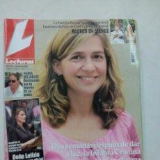 Coleccionismo de Revistas: REVISTA LECTURAS. RADIANTE. Nº 2779. JULIO 2005. Lote 56598376