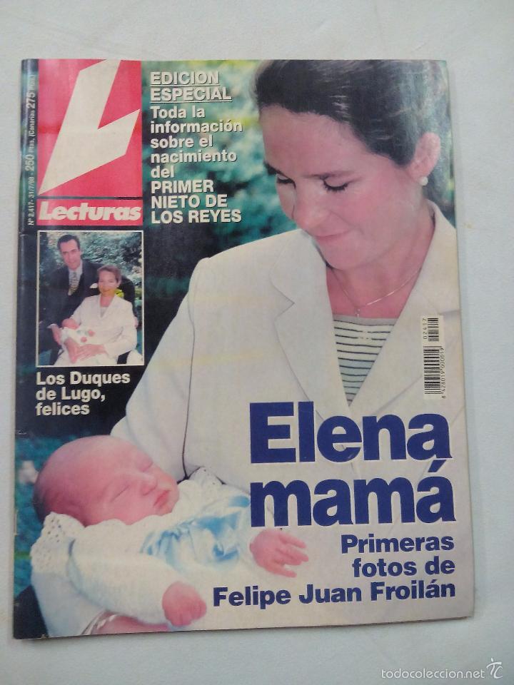 REVISTA LECTURAS. ELENA MAMA. Nº 2417. JULIO 1998 (Coleccionismo - Revistas y Periódicos Modernos (a partir de 1.940) - Revista Lecturas)