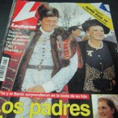Coleccionismo de Revistas: REVISTA LECTURAS Nº 132 12 FEBRERO 1993 TITA CERVERA TOM CRUISE NICOLE KIDMAN CICCIOLINA WOODY ALLEN. Lote 56671689