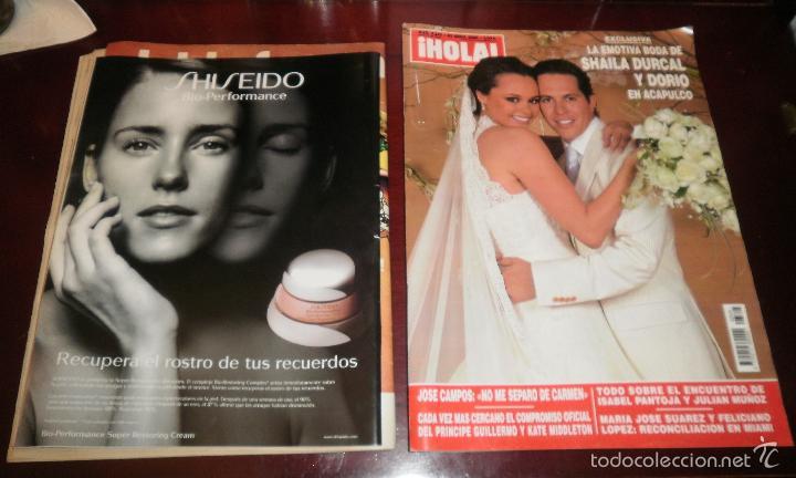 Coleccionismo de Revistas: Revistas del corazón. Rocío Dúrcal, boda, muerte y boda de Shaila (Lecturas, Semana y Hola) - Foto 4 - 57565825
