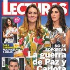 Coleccionismo de Revistas: LECTURAS NÚM. 3351. 15 DE JUNIO DE 2016. LA GUERRA DE PAZ Y CARLOTA. Lote 57685581