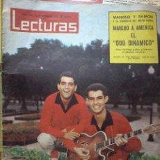 Coleccionismo de Revistas: REVISTA LECTURAS-OCTUBRE 1962-Nº 549. Lote 58085361