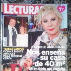 Coleccionismo de Revistas: REVISTA LECTURAS. Lote 58086429