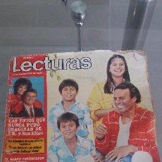 Coleccionismo de Revistas: REVISTA LECTURAS AÑO 1983 N° 1637. Lote 58357038