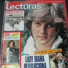 Coleccionismo de Revistas: REVISTA LECTURAS 5/82 CHICHO GORDILLO PRESENTARA UN DOS TRES SERRAT FAWCET MIGUEL BOSE BARBARA REY . Lote 58437642
