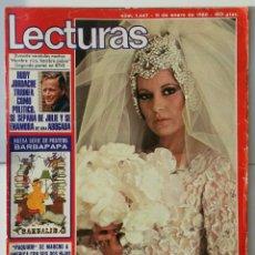 Coleccionismo de Revistas: LECTURAS ENERO 1980 BARBARA REY,PAQUIRRI. Lote 58599582