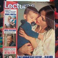 Coleccionismo de Revistas: REVISTA LECTURAS 1977 / ANA BELEN, JOHAN CRUYFF, TONY FRANCIOSA, PETER STRAUSS, ANA Y JOHNNY ++. Lote 59703191