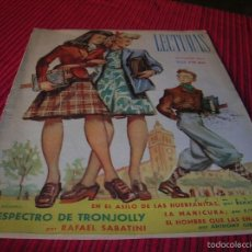 Coleccionismo de Revistas: REVISTA LECTURAS AÑO 1945. Lote 60184339