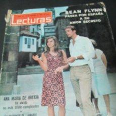 Coleccionismo de Revistas: REVISTA LECTURAS 9/65 ROMINA POWER WHISKY Y VODKA LOLA FLORES BRIGADA 21 ANA MARIA DE GRECIA . Lote 60212963