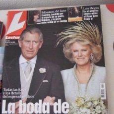 Coleccionismo de Revistas: LA BODA DE CARLOS Y CAMILLA.22 DE ABRIL DE 2005. Lote 62122044