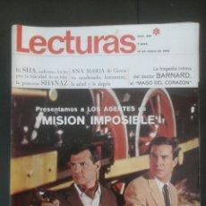 Coleccionismo de Revistas: REVISTA LECTURAS AÑO 1968. Lote 62156014
