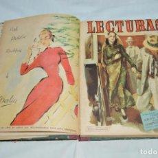 Coleccionismo de Revistas: REVISTA LECTURAS - AÑO COMPLETO - 1950 - DOS TOMOS - MUY ANTIGUO - MIRA LAS FOTOS. Lote 64458899