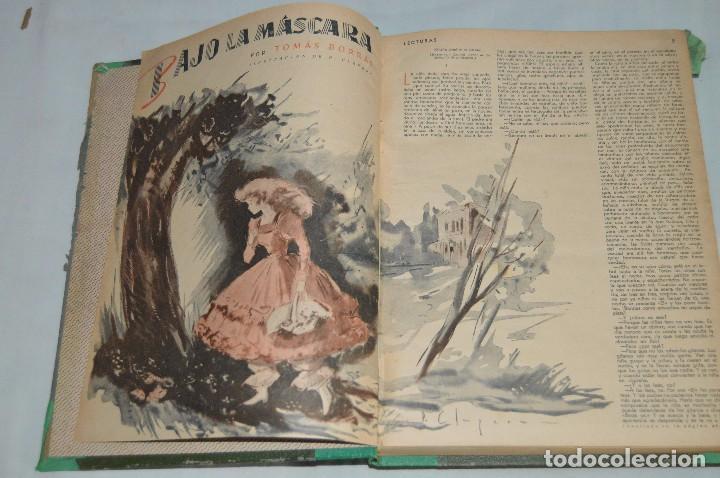Coleccionismo de Revistas: REVISTA LECTURAS - AÑO COMPLETO - 1949 - DOS TOMOS - MUY ANTIGUO - MIRA LAS FOTOS - Foto 3 - 64458967