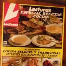 Coleccionismo de Revistas: LECTURAS ESPECIAL COCINA N.2. Lote 67035097