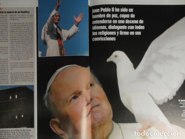 Coleccionismo de Revistas: REVISTA LECTURAS Nº 2768 -AÑO 2005 -EL PAPA EMPRENDE SU ULTIMO VIAJE -ALBERTO DE MONACO - MOTOS - Foto 5 - 67544693