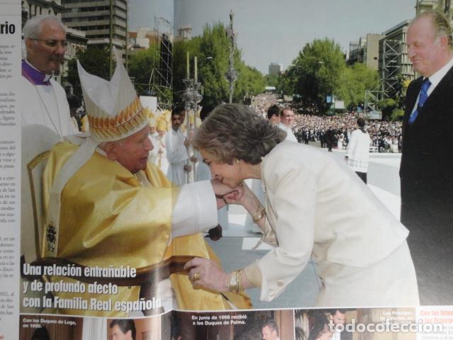 Coleccionismo de Revistas: REVISTA LECTURAS Nº 2768 -AÑO 2005 -EL PAPA EMPRENDE SU ULTIMO VIAJE -ALBERTO DE MONACO - MOTOS - Foto 6 - 67544693