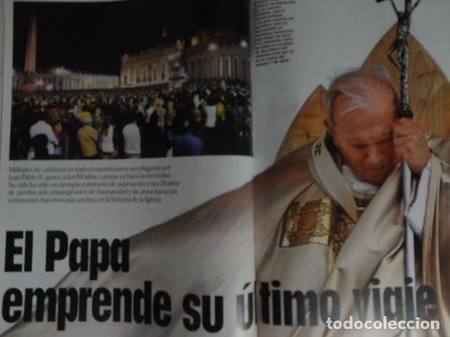 Coleccionismo de Revistas: REVISTA LECTURAS Nº 2768 -AÑO 2005 -EL PAPA EMPRENDE SU ULTIMO VIAJE -ALBERTO DE MONACO - MOTOS - Foto 8 - 67544693