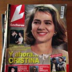 Coleccionismo de Revistas: LOTE 10 REVISTAS LECTURAS 2244, 1772, 2286, 2289, 2307, 2011, 2172, 2173, 2170 Y 2214. USADAS.. Lote 67686381