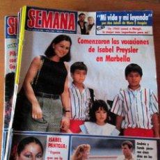 Coleccionismo de Revistas: LOTE 8 REVISTAS SEMANA 2426, 2890, 2640, 2405, 2930, 2953, 2906 Y 2911. USADAS.. Lote 67687673