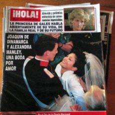 Coleccionismo de Revistas: LOTE 10 REVISTAS HOLA! 2677, 2675, 2655, 2665, 2668, 2639, 2640, 2647, 2648 Y 2649. USADAS.. Lote 67688281