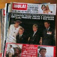 Coleccionismo de Revistas: LOTE 10 REVISTAS HOLA! 2664, 2621, 2669, 2653, 2709, 2656, 2678, 2665, 2679 Y 2694. USADAS.. Lote 67689265