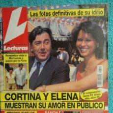Coleccionismo de Revistas: REVISTA LECTURAS Nº 2352 ,1997 -CAMILA Y DIANA -LOS REYES EN LERIDA -VIRNA LISI -ISABEL PREYSLER. Lote 69430997