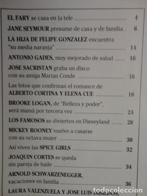 Coleccionismo de Revistas: REVISTA LECTURAS Nº 2352 ,1997 -CAMILA Y DIANA -LOS REYES EN LERIDA -VIRNA LISI -ISABEL PREYSLER - Foto 2 - 69430997