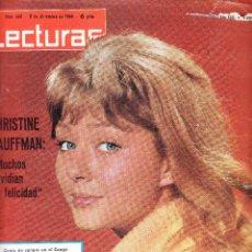 Coleccionismo de Revistas: LECTURAS Nº 660 - 1964 - PAULO VI - CLAUDIA CARDINALE - DOMINGO ORTEGA. Lote 69737421