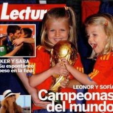 Coleccionismo de Revistas: REVISTA LECTURAS Nº 3043 21 JULIO 2010 REVISTAS USADAS. Lote 71120025