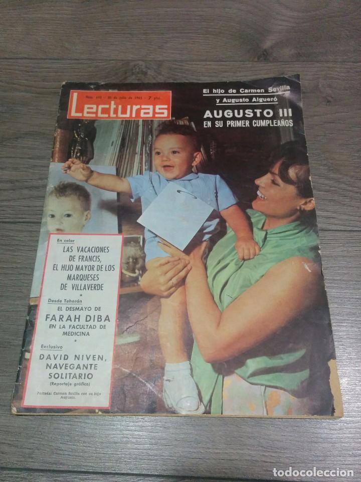 REVISTA ANTIGUA LECTURAS 1965 (Coleccionismo - Revistas y Periódicos Modernos (a partir de 1.940) - Revista Lecturas)