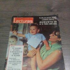Coleccionismo de Revistas: REVISTA ANTIGUA LECTURAS 1965. Lote 71829067
