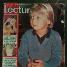 Coleccionismo de Revistas: REVISTA LECTURAS DICIEMBRE 1975. ASÍ VIVE EL PRINCIPE HEREDERO FELIPE DE BORBÓN. Lote 76540863