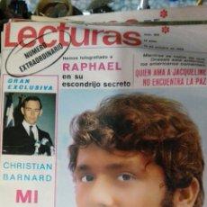 Coleccionismo de Revistas: LECTURAS EXTRAORDINARIO 1969 N 912. Lote 76673233