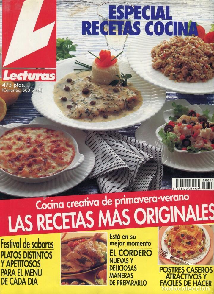 Lecturas especial recetas cocina n 14 a os comprar - Revista cocina facil lecturas ...