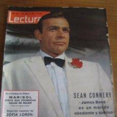 Colecionismo de Revistas: LECTURAS 7/5//1965 NÚMERO 681****************** SEAN CONNERY JAMES BOND. Lote 80291877