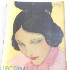 Coleccionismo de Revistas: REVISTA LECTURAS. NUM. 142 MARZO DE 1933.SUMARIO . Lote 82556488