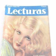 Coleccionismo de Revistas: REVISTA LECTURAS. NUM. 144 MAYO DE 1933. SUMARIO . Lote 82557820
