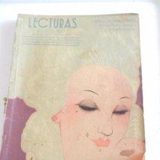 Coleccionismo de Revistas: REVISTA LECTURAS. NUM. 145 JUNIO DE 1933. SUMARIO . Lote 82558240