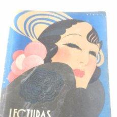Coleccionismo de Revistas: REVISTA LECTURAS. NUM. 148 SEPTIEMBRE 1933. SUMARIO. Lote 82561576