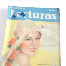Coleccionismo de Revistas: REVISTA LECTURAS. NUM. 149 OCTUBRE DE 1933. SUMARIO . Lote 82562228