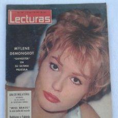 Coleccionismo de Revistas: REVISTA LECTURAS.N°589.AGOSTO DE 1963.. Lote 85160730