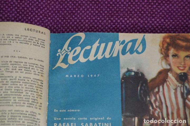 Coleccionismo de Revistas: ANTIGUO TOMO CON 6 NÚMEROS DE LA REVISTA LECTURAS - ENERO A JUNIO DE 1947 - ¡¡¡HAZME UNA OFERTA!!! - Foto 7 - 86392348