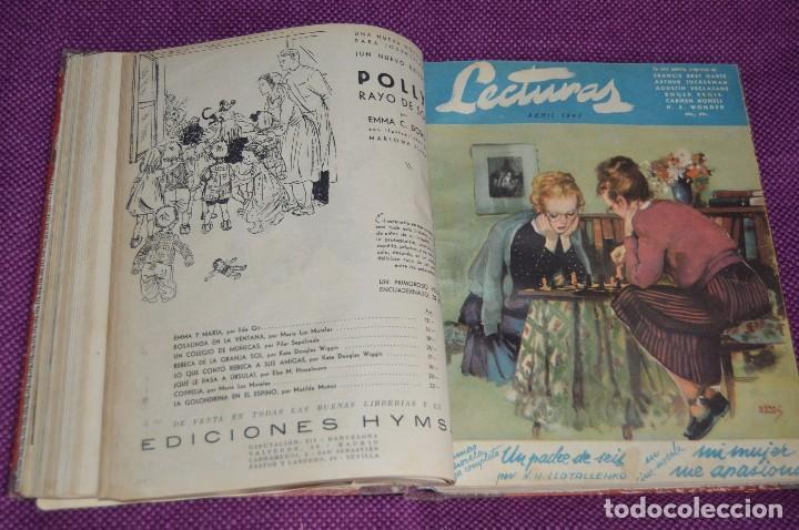 Coleccionismo de Revistas: ANTIGUO TOMO CON 6 NÚMEROS DE LA REVISTA LECTURAS - ENERO A JUNIO DE 1947 - ¡¡¡HAZME UNA OFERTA!!! - Foto 8 - 86392348