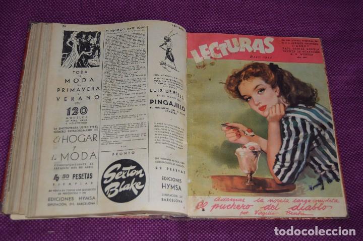 Coleccionismo de Revistas: ANTIGUO TOMO CON 6 NÚMEROS DE LA REVISTA LECTURAS - ENERO A JUNIO DE 1947 - ¡¡¡HAZME UNA OFERTA!!! - Foto 10 - 86392348