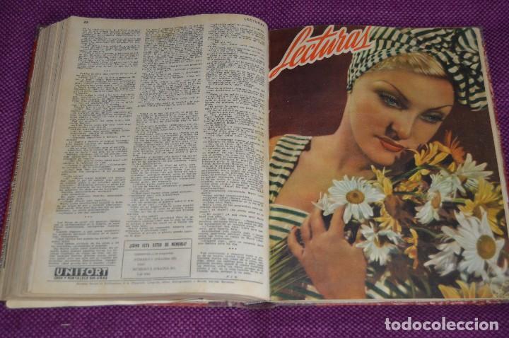 Coleccionismo de Revistas: ANTIGUO TOMO CON 6 NÚMEROS DE LA REVISTA LECTURAS - ENERO A JUNIO DE 1947 - ¡¡¡HAZME UNA OFERTA!!! - Foto 12 - 86392348