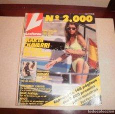 Coleccionismo de Revistas: REVISTA DEL CORAZÓN. LECTURAS 2000 (1990, 03/08/90), MARTA CHÁVARRI EN IBIZA, CON SUPLEMENTO. Lote 87188516